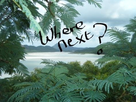 Where next